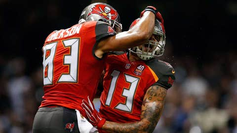 BUCCANEERS (-4.5) over Rams (Over/under: 41.5)