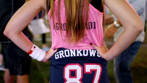 Gronk's women's football clinic