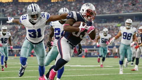 5. Dion Lewis slips four tackles for 10-yard TD