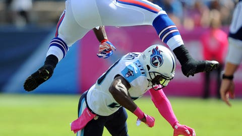 Tennessee Titans: the cornerback position