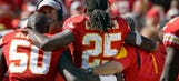 Chiefs star running back Charles suffers torn ACL, out for season