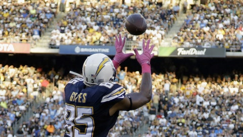 San Diego tight end Antonio Gates