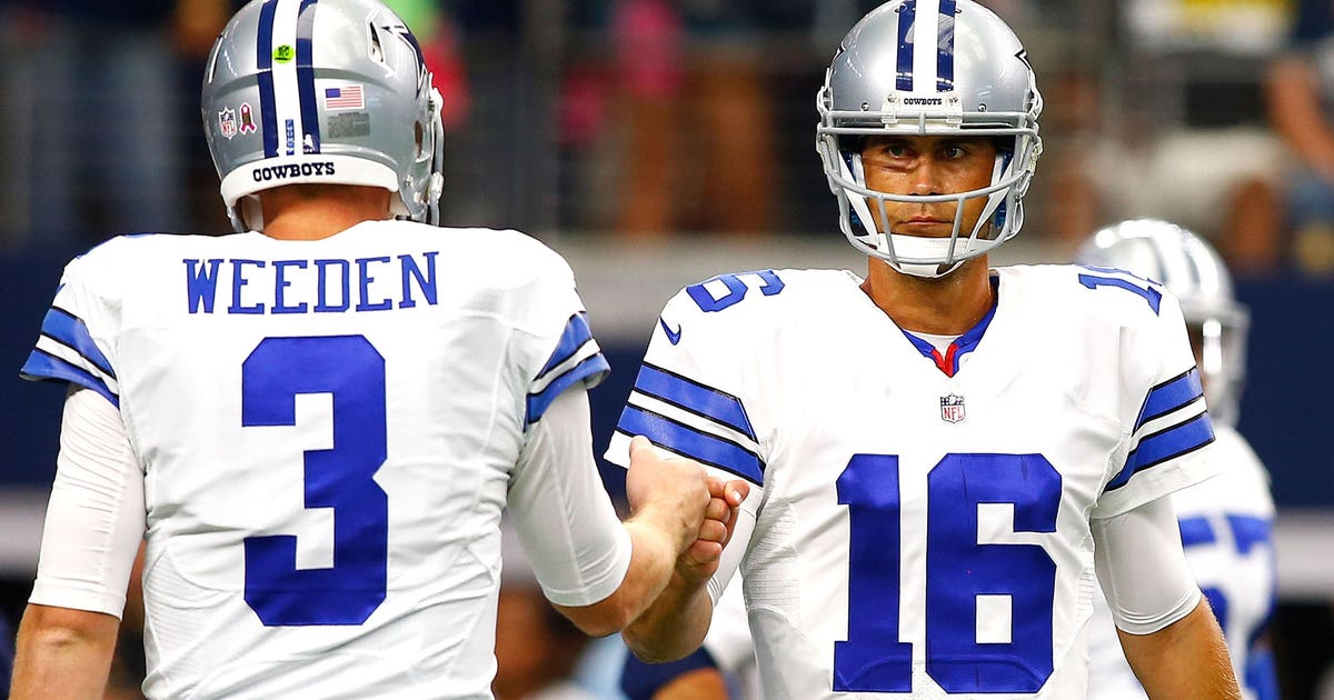 4f9e3be9f Cowboys should go back to Brandon Weeden after latest loss