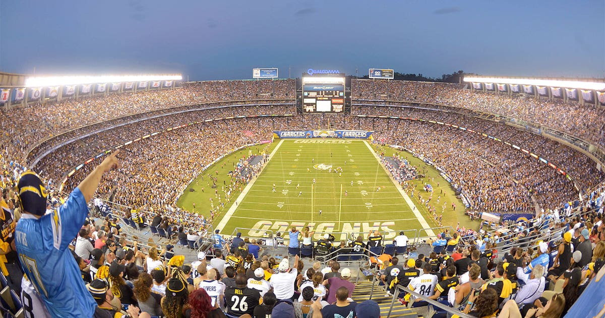Columnist Chargers Fans Would Be Outnumbered Even More In
