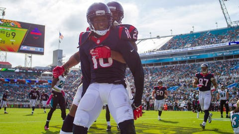 DeAndre Hopkins shows no signs of slowing down
