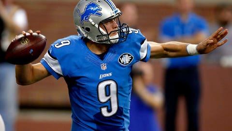 Lions QB Matthew Stafford