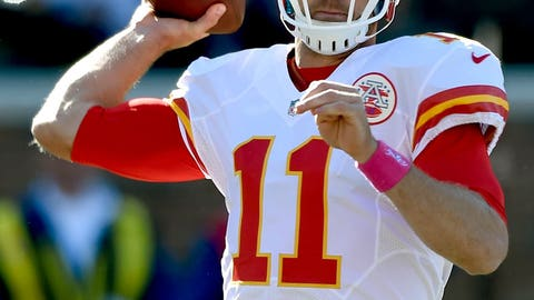 Chiefs QB Alex Smith