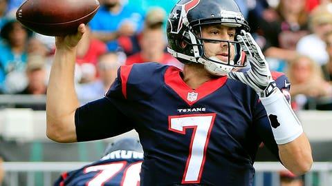 Texans QB Brian Hoyer