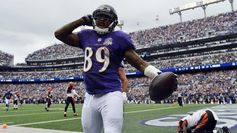 9. Baltimore wide receiver Steve Smith