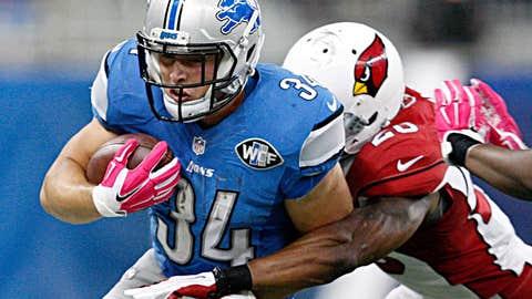 9: Detroit Lions running back Zach Zenner