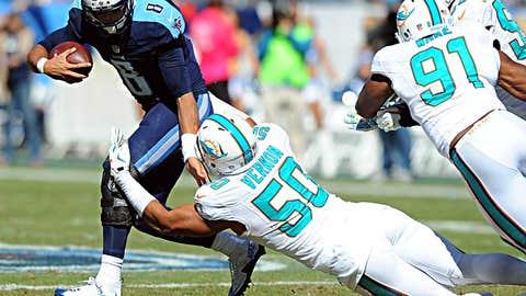 1: Tennessee quarterback Marcus Mariota