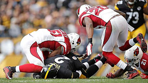 2: Pittsburgh quarterback Michael Vick