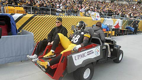 6: Pittsburgh left tackle Kelvin Beachum
