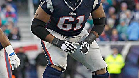 8: New England left tackle Marcus Cannon