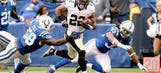 Mark Ingram praises offensive line after stellar rushing performance