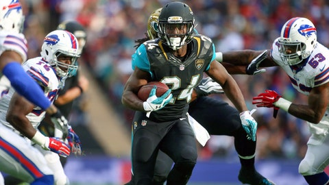 The Jaguars' first rushing touchdown of the season