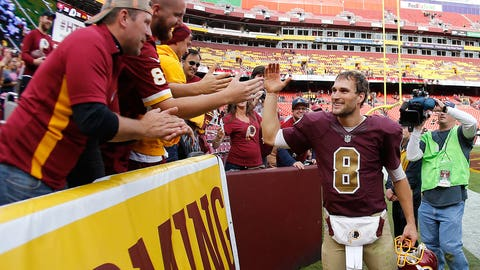 Silence the Haters Award: Kirk Cousins