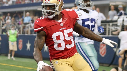 2. San Francisco tight end Vernon Davis