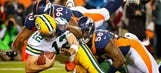 Broncos hammer Rodgers, hand Pack first loss in battle of unbeatens