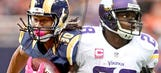 Fellow ACL recovery busters Gurley, Peterson to share same stage