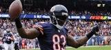 Patriots land tight end Martellus Bennett from Bears