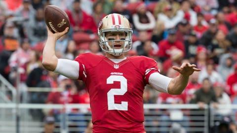 San Francisco quarterback Blaine Gabbert