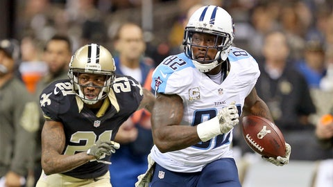 TE: Delanie Walker, Tennessee Titans: 6-0, 248 pounds