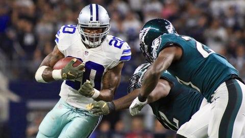 Dallas running back Darren McFadden