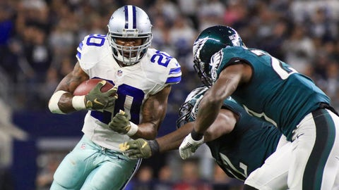 Dallas running back Darren McFadden