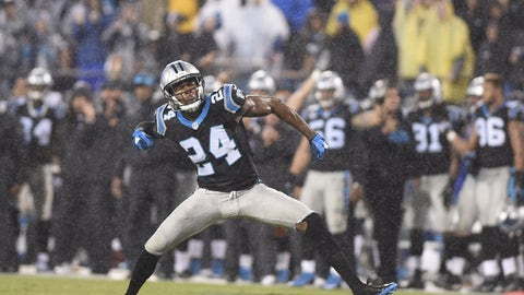 With the No. 143 overall selection, the Carolina Panthers select Josh Norman