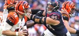 J.J. Watt eager for the opportunity to play undefeated Bengals