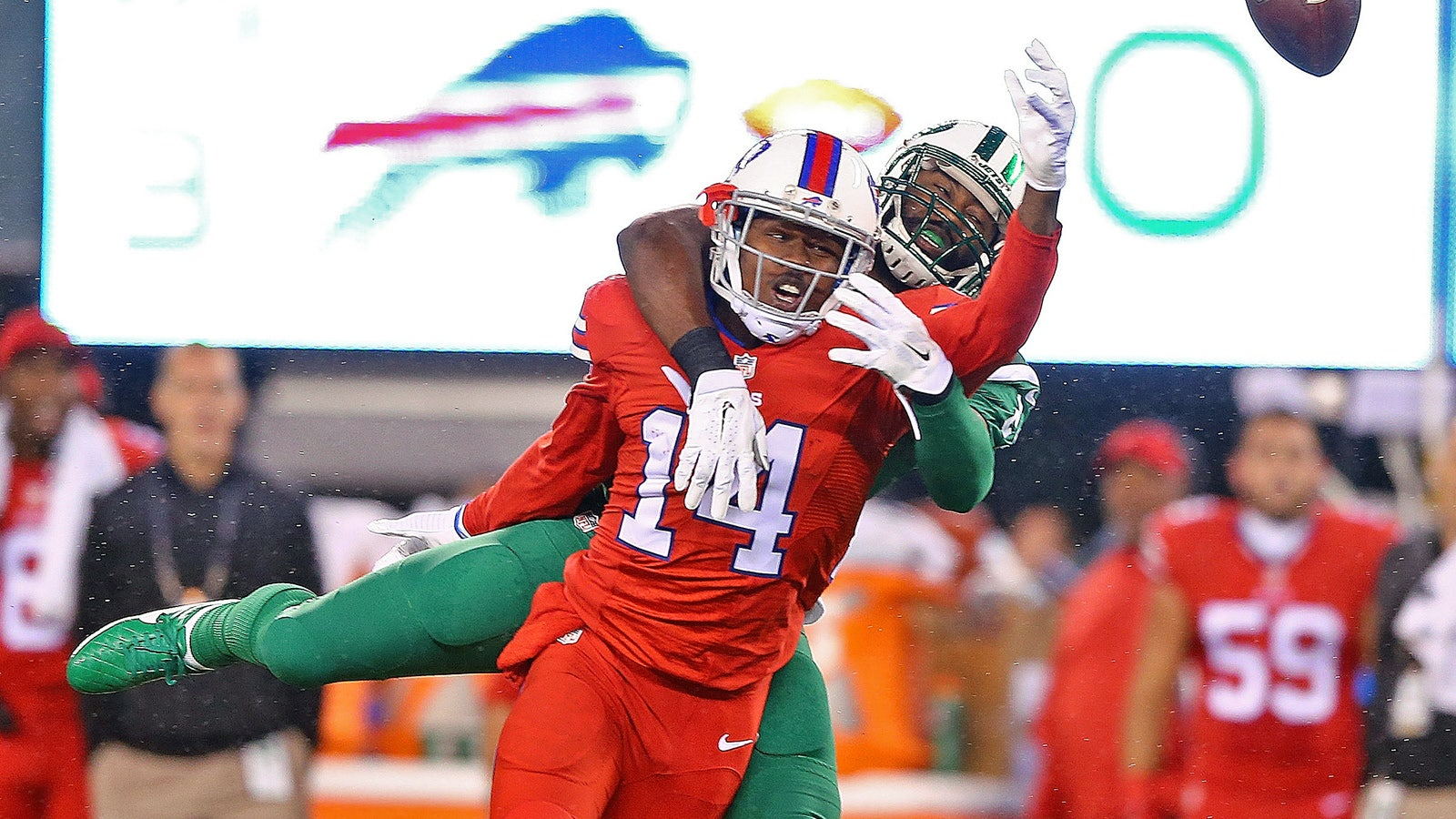 promo code a63f5 81807 Twitter reacts to Bills, Jets wearing 'Color Rush' uniforms ...