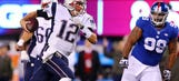 Patriots take Giants' best shot, rally to improve to 9-0