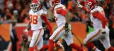 Chiefs' secondary snags five — that's right, five — interceptions