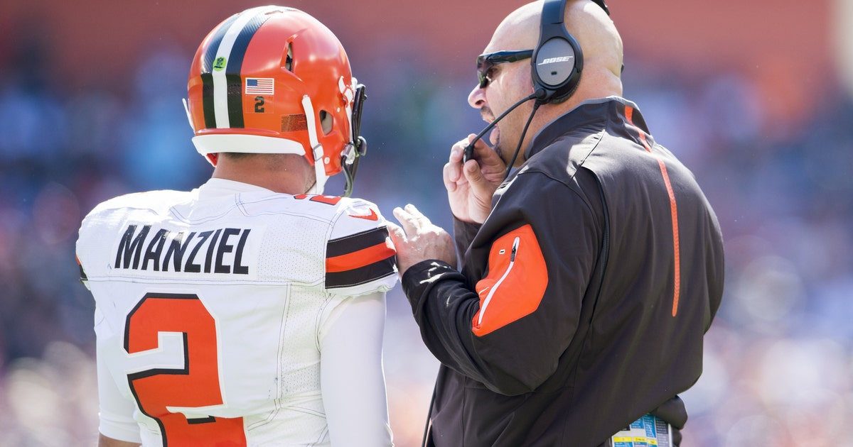 1e8003a9389 Johnny Manziel benched by Browns for off-field antics | FOX Sports