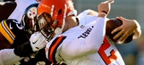 Steelers' Moats apologizes for nearly ripping Manziel's head off, Manziel accepts