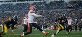 Browns' Johnny Manziel posts best statistical output in loss to Steelers