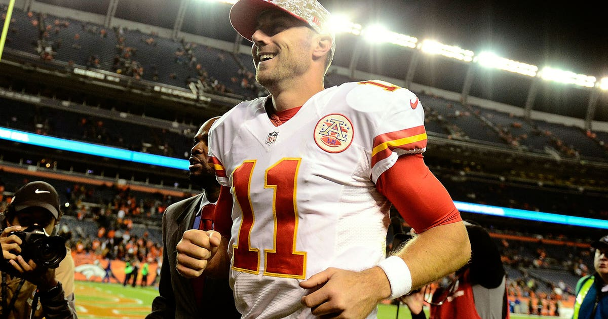 Alex Smith Leads The League In Mistake Free Quarterbacking