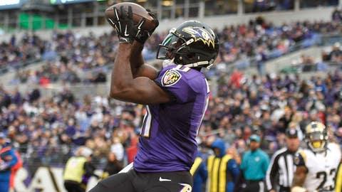 Baltimore Ravens -- Kamar Aiken (WR)