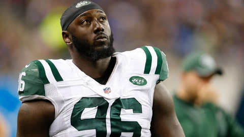 New York Jets defensive end Mo Wilkerson
