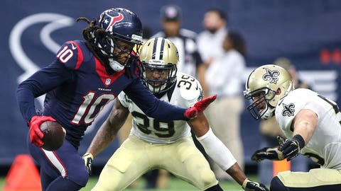 Houston cruises without major contribution from DeAndre Hopkins