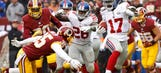 Giants' Dwayne Harris: We probably took the Redskins for granted