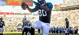 Jags TE Thomas has breakout game in loss to Chargers