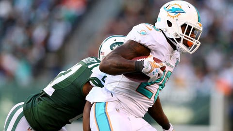 Dolphins rush for just 12 yards