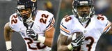Bears feature pretty even split between Forte, Langford at RB