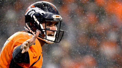 Denver quarterback Brock Osweiler