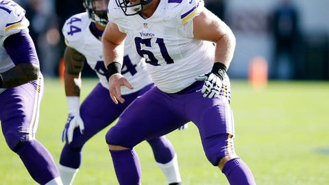Minnesota center Joe Berger
