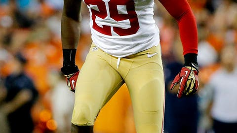 San Francisco safety Jaquiski Tartt