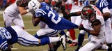 Bucs hold Colts to historically low rushing performance