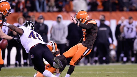Ravens shock Browns with 'kick six'